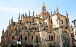 Cathedral in Segovia Royalty Free Stock Photo
