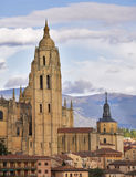 Cathedral in Segovia Stock Photography