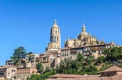 Cathedral of Segovia, Castilla y Leon, Spain Royalty Free Stock Photo