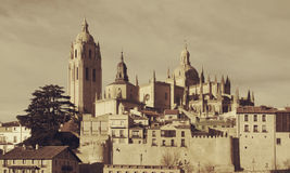 Cathedral Segovia Royalty Free Stock Image