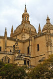 Cathedral of Segovia, Spain Royalty Free Stock Image