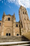 Cathedral in Segovia, Spain Royalty Free Stock Image