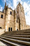 Cathedral in Segovia, Spain Royalty Free Stock Photo