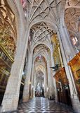 Cathedral of Segovia, Spain stock photos