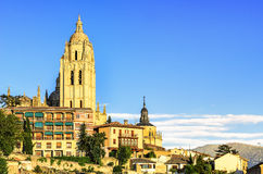 Cathedral of Segovia, Spain Royalty Free Stock Photo