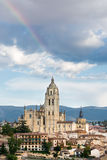 Cathedral of segovia Stock Photography