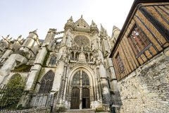 Cathedral of Senlis Royalty Free Stock Image
