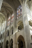 Cathedral of Senlis, interior Stock Photo