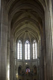Cathedral of Senlis, interior Royalty Free Stock Photography