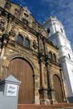 Cathedral Senora de la Asuncion. Panama city Royalty Free Stock Image