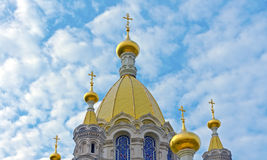 The cathedral in Sevastopol Royalty Free Stock Image