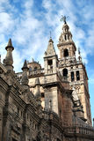 Cathedral of Sevilla Royalty Free Stock Images