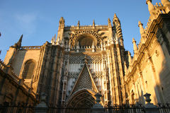 Cathedral of Sevilla Royalty Free Stock Photography