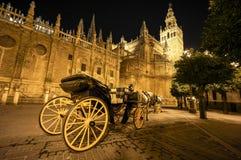 Cathedral Sevilla Royalty Free Stock Image
