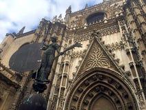 Cathedral Sevilla stock photos