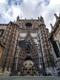 Cathedral of Sevilla Stock Images