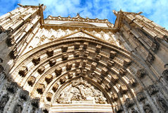Cathedral of Seville Stock Image
