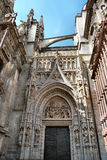 Cathedral of Seville royalty free stock photography