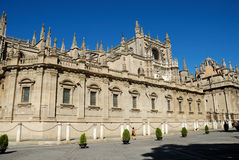 Cathedral in Seville Stock Photo