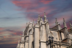Cathedral of Seville -- Cathedral of Saint Mary of the See, Andalusia, Spain Royalty Free Stock Image