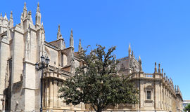 Cathedral of Seville -- Cathedral of Saint Mary of the See, Andalusia, Spain Stock Photos