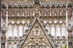 Cathedral of Seville Royalty Free Stock Images
