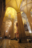 Cathedral of Seville, Spain Stock Images