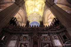 Cathedral of Seville, Spain Stock Photo