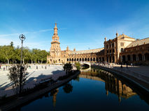 Cathedral in Seville, Spain 2015 Royalty Free Stock Photos