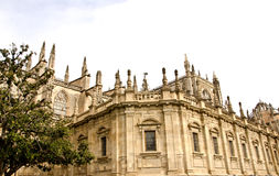 Cathedral of Seville, Spain. Seville Cathedral is the largest Gothic cathedral in the world and the third largest religious centers Stock Image