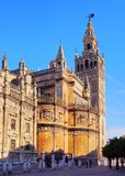 Cathedral in Seville, Spain Stock Photo