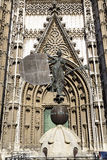 Cathedral in Seville, Spain Stock Photography