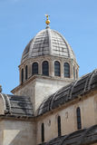 Cathedral in Sibenik, Croatia Royalty Free Stock Photo