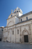 Cathedral in Sibenik, Croatia Royalty Free Stock Photography