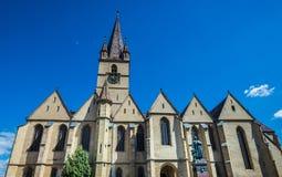 Cathedral in Sibiu Stock Photo