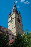 Cathedral in Sibiu Stock Images