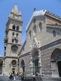 Cathedral on sicily. Italy Royalty Free Stock Images