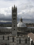 The Cathedral of Siena Royalty Free Stock Photo