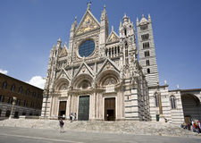 Cathedral at Siena Stock Image