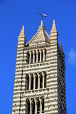 Cathedral of Siena. Bell tower of the Cathedral of Siena, Italy Royalty Free Stock Photos