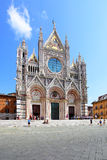 Cathedral of Siena Stock Photo