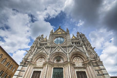 Cathedral of Siena Stock Images