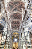 Cathedral in Siena Stock Images
