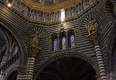 Cathedral of Siena Interior Stock Image
