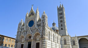 Cathedral of Siena - Italy Royalty Free Stock Image