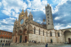 The cathedral in Siena, Italy Royalty Free Stock Photo