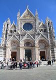 Cathedral of Siena, Italy Royalty Free Stock Images