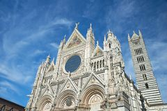 The Cathedral of Siena royalty free stock photos