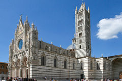 Cathedral in Sienna Royalty Free Stock Photos