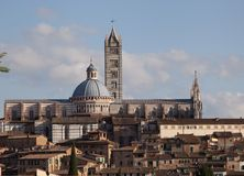 The Cathedral of Sienna Royalty Free Stock Photography